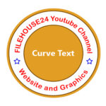How do you make Curve Text in Photoshop